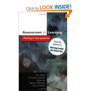 assessment for learning putting it into practice
