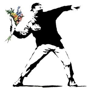 banksy-flowers-canvas